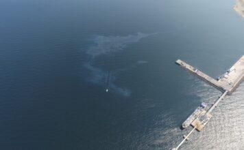 Загрязнение моря возле Силламяэ