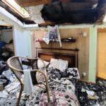 Пожар в Нарва-Йыэсуу