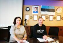 Виктория Каю и Антон Праткунас