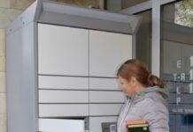 Книжный шкаф, Нарвская центральная библиотека