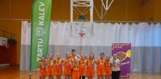 Баскетбольная команда Narva PSK U13